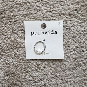 Pure Vida Floral Stacking Ring